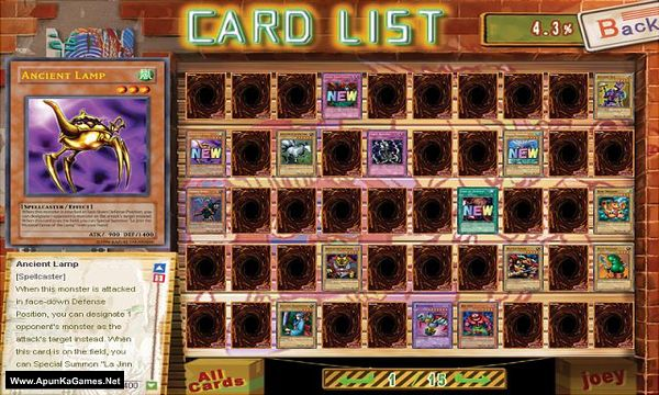 Yu-Gi-Oh! Power Of Chaos Screenshot 3, Full Version, PC Game, Download Free