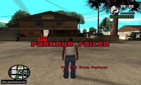 GTA San Andreas Parkour Challenge Mod Screenshot 3, Full Version, PC Game, Download Free