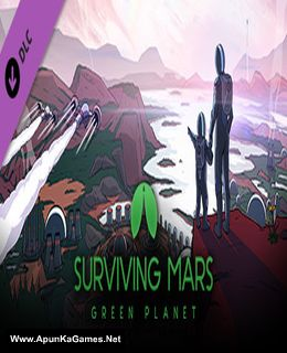 Surviving Mars Green Planet Cover, Poster, Full Version, PC Game, Download Free