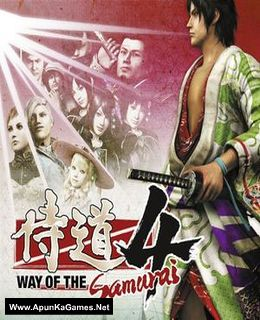 Way of the Samurai 4 Cover, Poster, Full Version, PC Game, Download Free