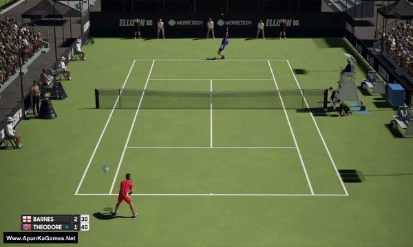 AO International Tennis Screenshot 1, Full Version, PC Game, Download Free