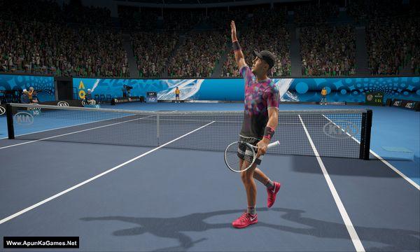 AO International Tennis Screenshot 3, Full Version, PC Game, Download Free