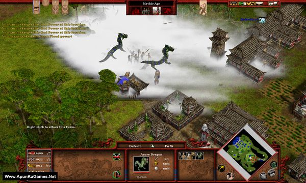 Age of Mythology: Tale of the Dragon Screenshot 1, Full Version, PC Game, Download Free