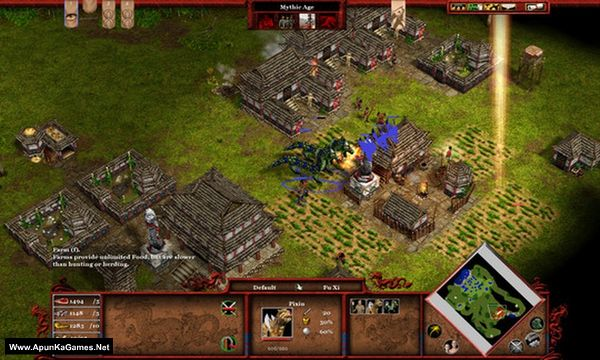 Age of Mythology: Tale of the Dragon Screenshot 2, Full Version, PC Game, Download Free