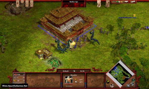 Age of Mythology: Tale of the Dragon Screenshot 3, Full Version, PC Game, Download Free