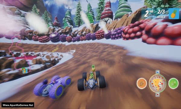 All-Star Fruit Racing Screenshot 2, Full Version, PC Game, Download Free