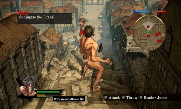Attack on Titan Screenshot 1, Full Version, PC Game, Download Free