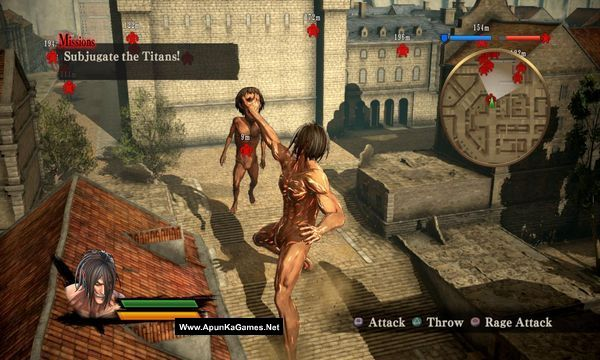 Attack on Titan Screenshot 2, Full Version, PC Game, Download Free