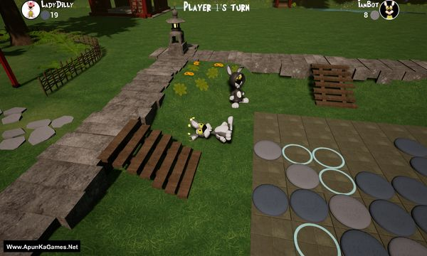 Bunny Reversi Screenshot 1, Full Version, PC Game, Download Free