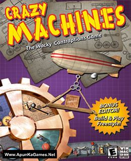 Crazy Machines 1 Cover, Poster, Full Version, PC Game, Download Free