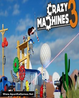 Crazy Machines 3 Cover, Poster, Full Version, PC Game, Download Free