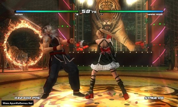 DEAD OR ALIVE 5 Last Round: Core Fighters Screenshot 1, Full Version, PC Game, Download Free