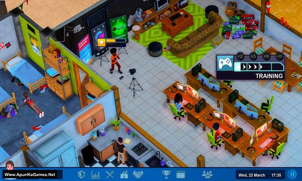 Esports Life Tycoon Screenshot 1, Full Version, PC Game, Download Free