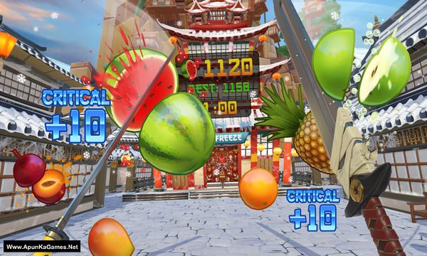 Fruit Ninja VR Screenshot 1, Full Version, PC Game, Download Free