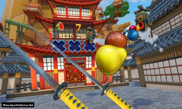 Fruit Ninja VR Screenshot 3, Full Version, PC Game, Download Free