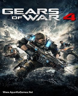 Gears of War 4 Cover, Poster, Full Version, PC Game, Download Free