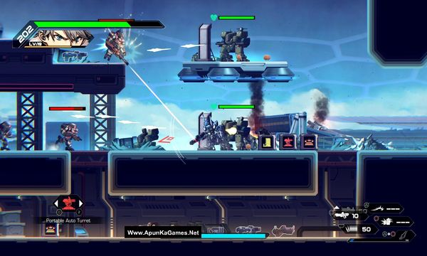Hardcore Mecha Screenshot 3, Full Version, PC Game, Download Free