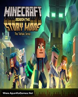 Minecraft: Story Mode - Season Two Cover, Poster, Full Version, PC Game, Download Free