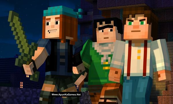 Minecraft: Story Mode - Season Two Screenshot 1, Full Version, PC Game, Download Free