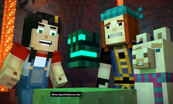 Minecraft: Story Mode - Season Two Screenshot 2, Full Version, PC Game, Download Free
