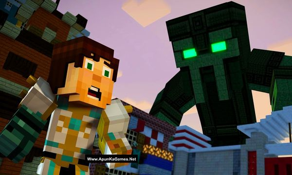Minecraft: Story Mode - Season Two Screenshot 3, Full Version, PC Game, Download Free
