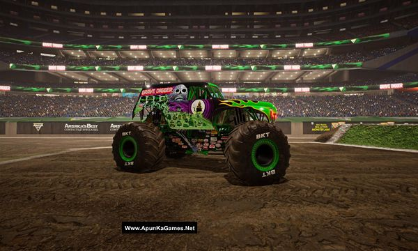 Monster Jam Steel Titans Screenshot 1, Full Version, PC Game, Download Free