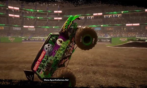 Monster Jam Steel Titans Screenshot 2, Full Version, PC Game, Download Free