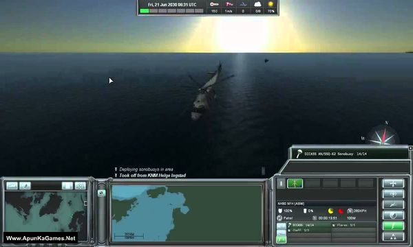 Naval War: Arctic Circle Screenshot 1, Full Version, PC Game, Download Free