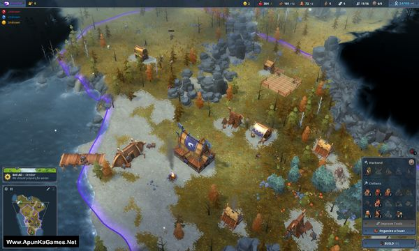 Northgard Svafnir Clan of the Snake Screenshot 1, Full Version, PC Game, Download Free