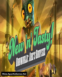 Oddworld: New 'n' Tasty Cover, Poster, Full Version, PC Game, Download Free