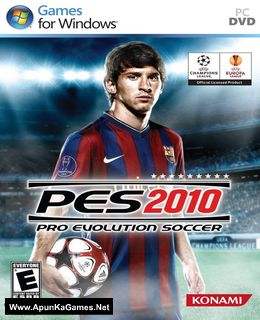Pro Evolution Soccer 2010 Cover, Poster, Full Version, PC Game, Download Free