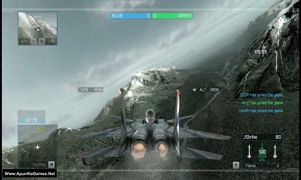 Tom Clancy's H.A.W.X Screenshot 1, Full Version, PC Game, Download Free