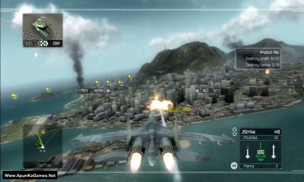 Tom Clancy's H.A.W.X Screenshot 2, Full Version, PC Game, Download Free