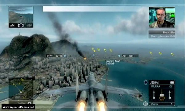 Tom Clancy's H.A.W.X Screenshot 3, Full Version, PC Game, Download Free