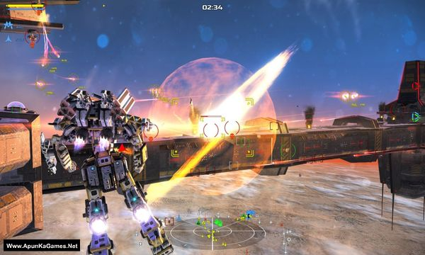 War Tech Fighters Screenshot 3, Full Version, PC Game, Download Free