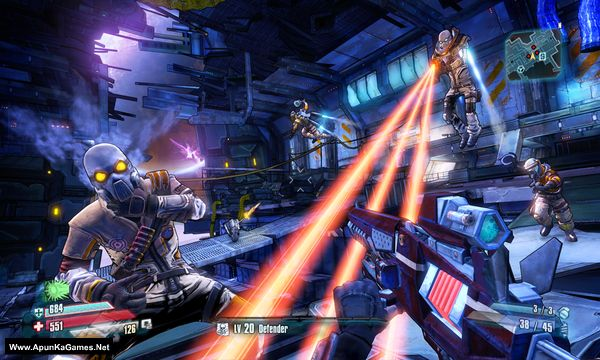 Borderlands: The Pre-Sequel Screenshot 2, Full Version, PC Game, Download Free