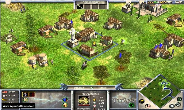 Age of Mythology: Gold Edition Screenshot 1, Full Version, PC Game, Download Free