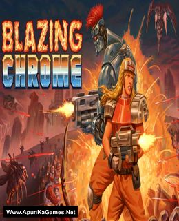 Blazing Chrome Cover, Poster, Full Version, PC Game, Download Free
