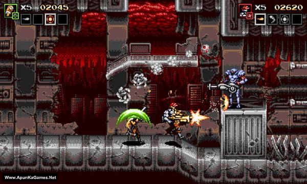 Blazing Chrome Screenshot 1, Full Version, PC Game, Download Free