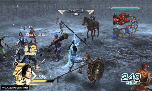 Dynasty Warriors 6 Screenshot 1, Full Version, PC Game, Download Free