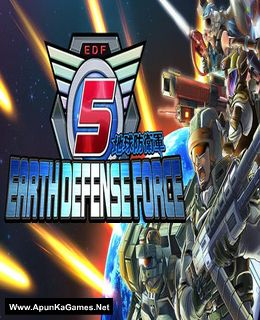 Earth Defense Force 5 Cover, Poster, Full Version, PC Game, Download Free