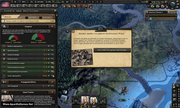 Expansion - Hearts of Iron IV: Man the Guns Screenshot 3, Full Version, PC Game, Download Free