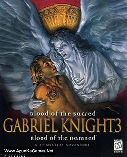 Gabriel Knight 3: Blood of the Sacred, Blood of the Damned Cover, Poster, Full Version, PC Game, Download Free