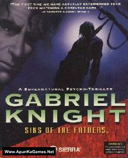Gabriel Knight: Sins of the Fathers Cover, Poster, Full Version, PC Game, Download Free
