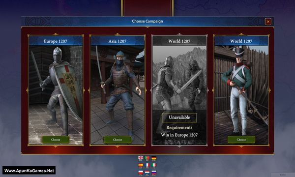 Generals & Rulers Screenshot 1, Full Version, PC Game, Download Free