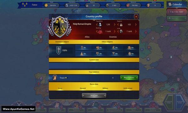 Generals & Rulers Screenshot 2, Full Version, PC Game, Download Free