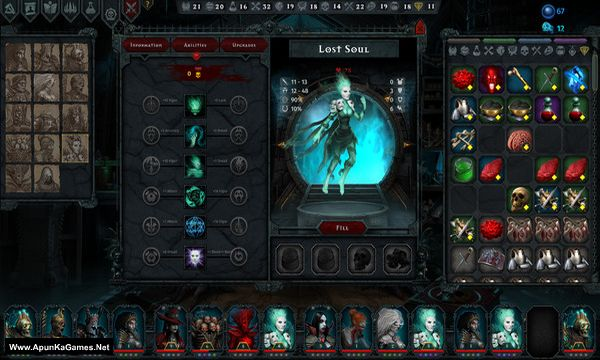 Iratus: Lord of the Dead Screenshot 2, Full Version, PC Game, Download Free
