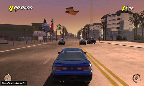 L.A. Rush Screenshot 3, Full Version, PC Game, Download Free