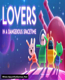 Lovers in a Dangerous Spacetime Cover, Poster, Full Version, PC Game, Download Free