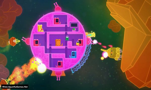 Lovers in a Dangerous Spacetime Screenshot 1, Full Version, PC Game, Download Free